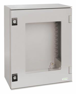 Fiber Glass Enclosure Clear Door